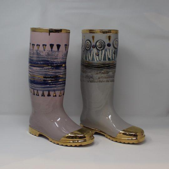 Ceramic Rain Boot for Home Decor