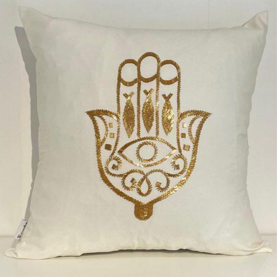Needle Gold Hand Cushion